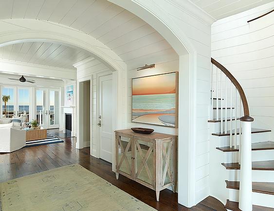 Amy Trowman Design project on Sullivan's Island SC