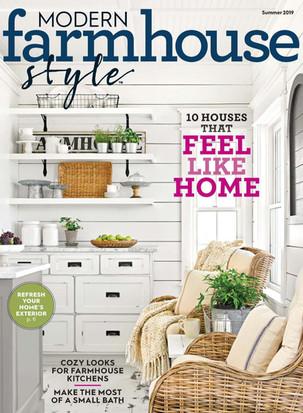 Modern Farmhouse Style Magazine Summer 2019