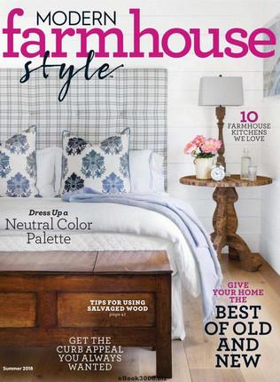 Modern Farmhouse Style Magazine June 2018