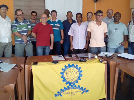 Transição na Federação Metodista de Homens