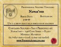 Spagyric Tincture of Nawak'osis
