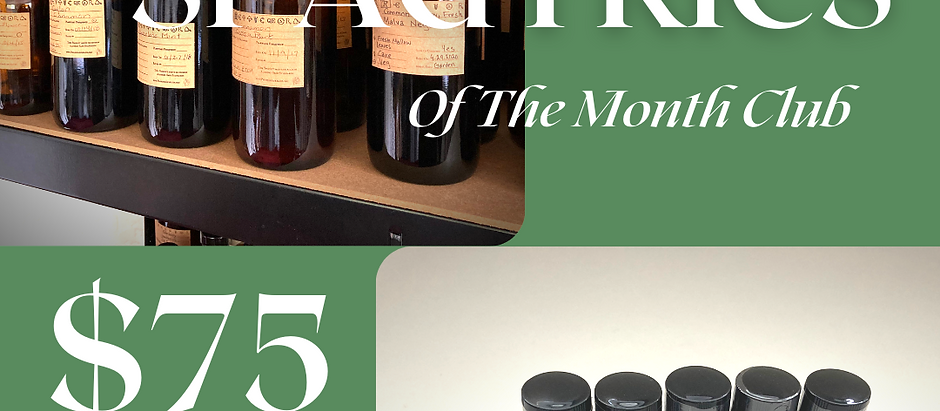 Spagyrics of the Month Club
