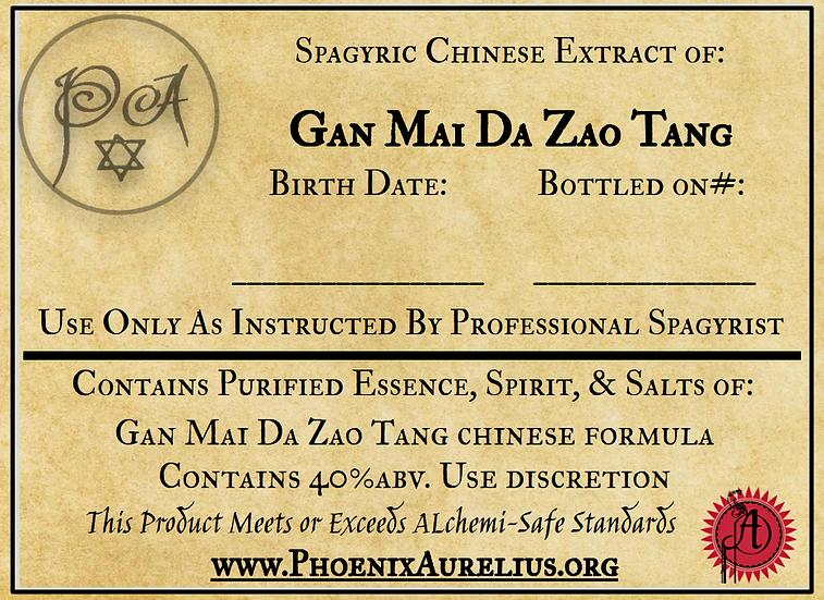Gan Mai Da Zao Tang Spagyric Chinese Extract