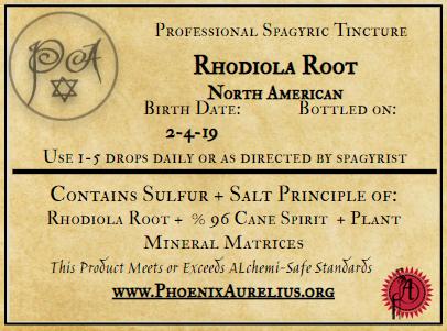 North America Rhodiola Spagyric Tincture