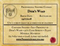 Dyer's Woad Spagyric Tincture
