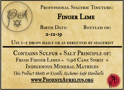 Finger Lime Spagyric Tincture