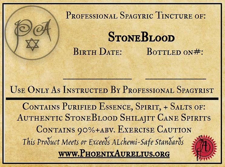 Stone Blood Spagyric Tincture