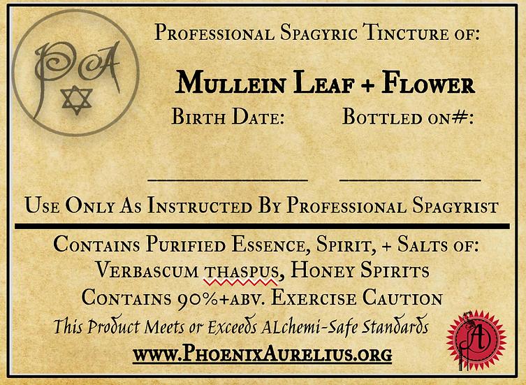 Fresh Mullein Spagyric Tincture