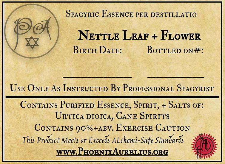 Nettle Leaf + Flower Spagyric Essence
