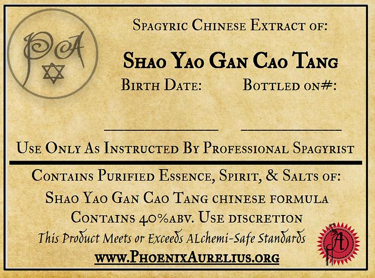Shao Yao Gan Cao Tang Spagyric Chinese Extract