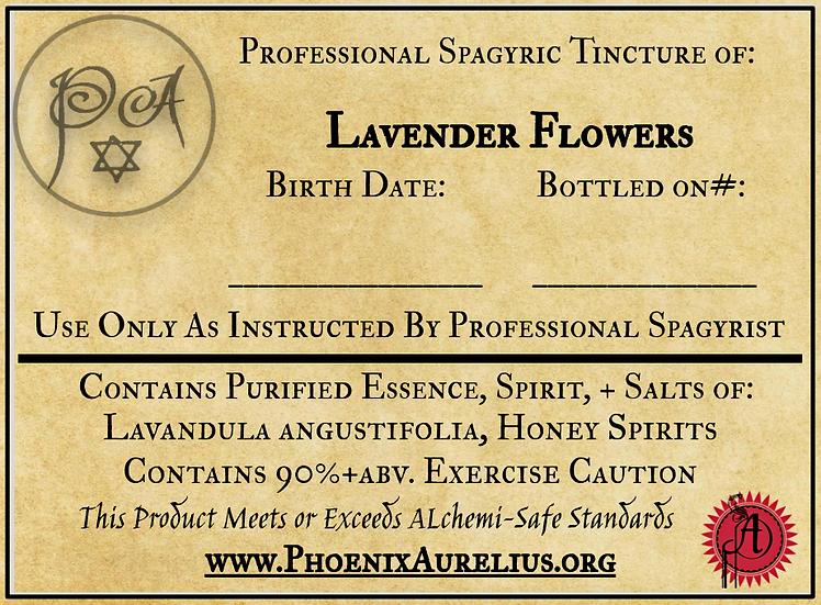 Lavender Spagyric Tincture