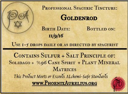 Goldenrod Spagyric Tincture