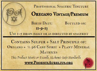 Spagryic Oregano Premium/Vintage