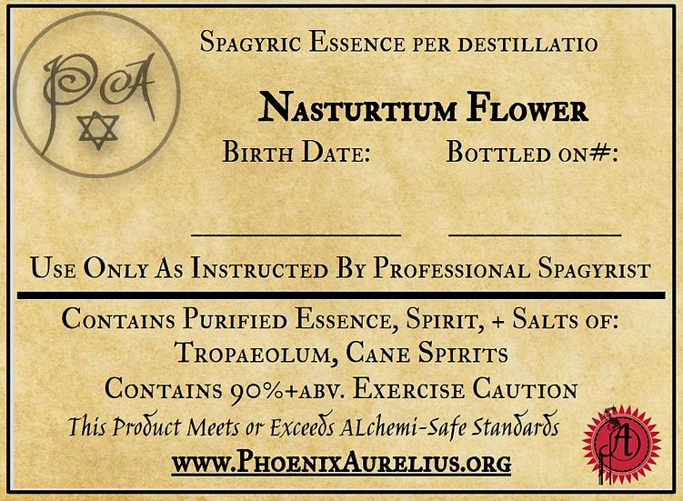 Nasturtium Super Concentrated Spagyric Tincture