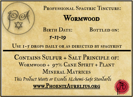 Wormwood Spagyric Tincture