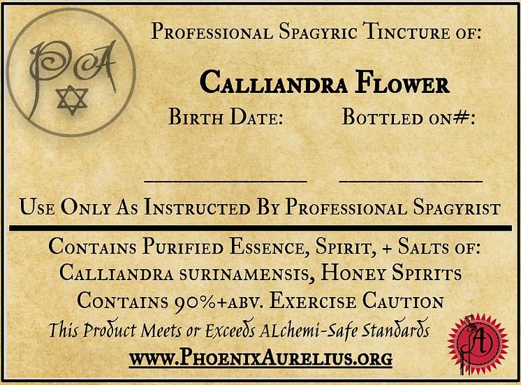 Calliandra Flower Spagyric Tincture