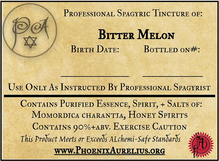 Bitter Melon Spagyric Tincture