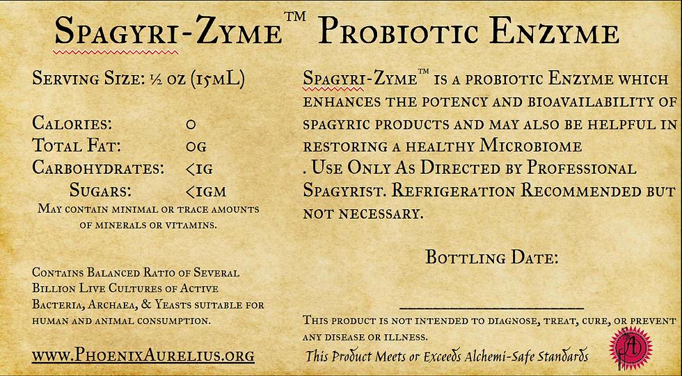 Spagyri-Zyme Probiotic