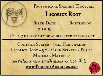 Licorice Root Spagyric Tincture