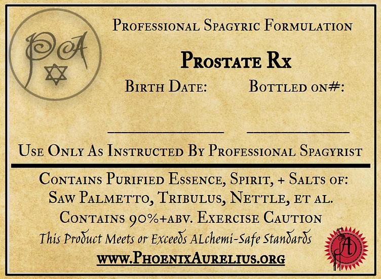 Prostate Rx Spagyric Formulation