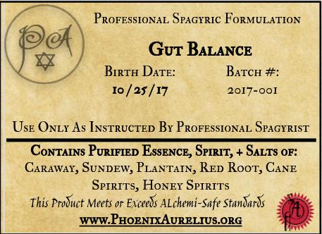 Gut Balance Spagyric Formulation
