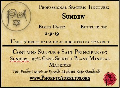 Sundew Spagyric Tincture