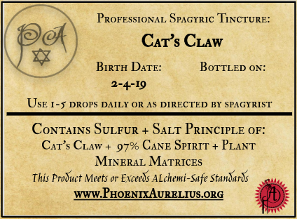 Cat's Claw Spagyric Tincture