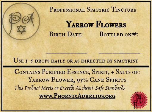 Yarrow Flower Spagyric Tincture