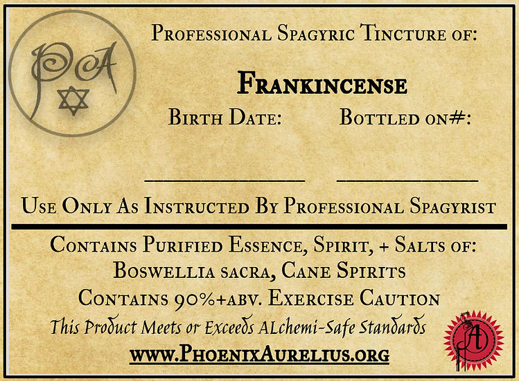Frankincense Spagyric Tincture