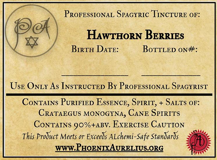 Hawthorn Berry Spagyric Tincture