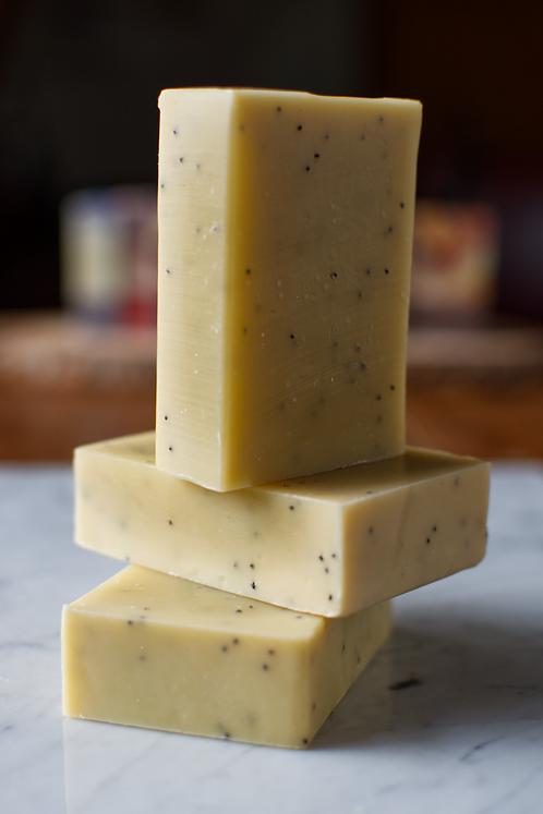 Agrumes - savon légèrement exfoliant 100 gr.