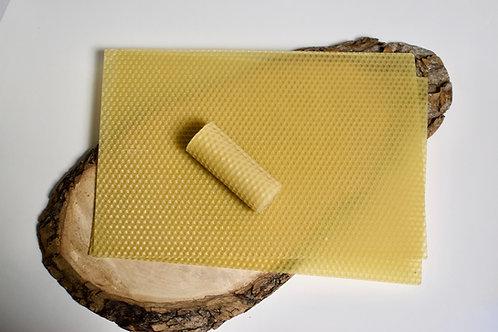 Cire abeille gaufrée
