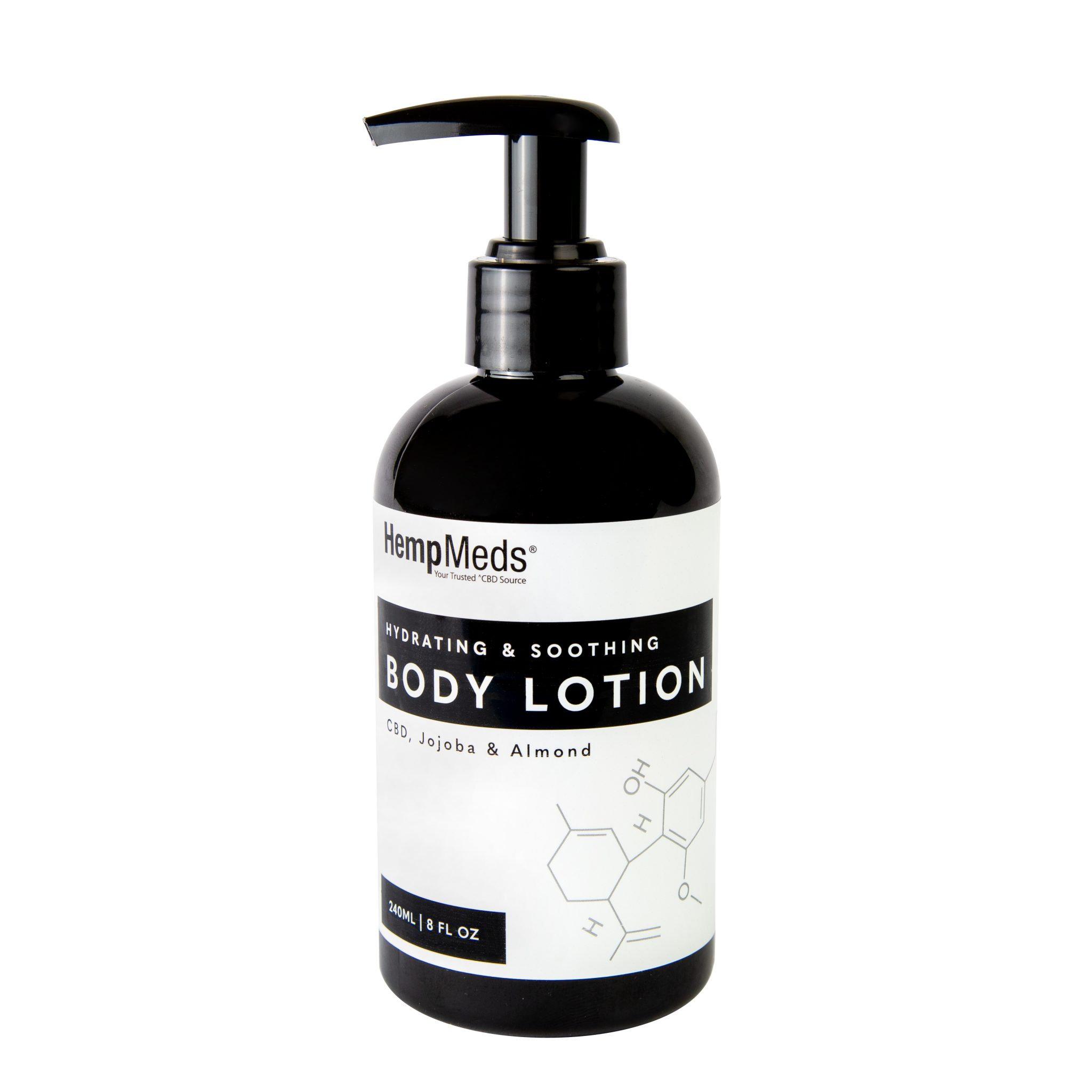 HEMP MEDS - CBD Hydrating & Shoothing Body Lotion 8oz | Cali Cannabis  Marketplace