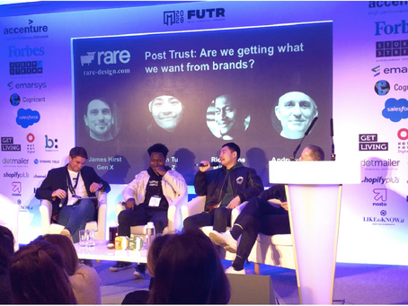 Post-FUTR interview - Andrew Piper (Rare), Ric Flow (Millennial), Leon Tu (Gen Y)