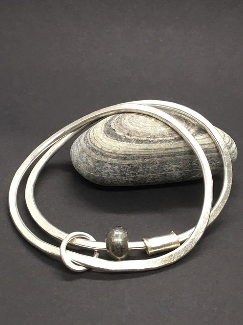Newlyn pebble bangle