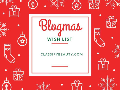 BLOGMAS WISHLIST