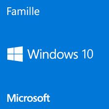 Windows 10 édition Famille 64Bits Francais