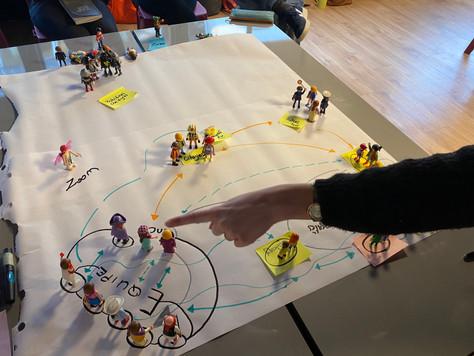 Systémie, design thinking, ... ou comment l'intelligence collective permet de rester des enfants