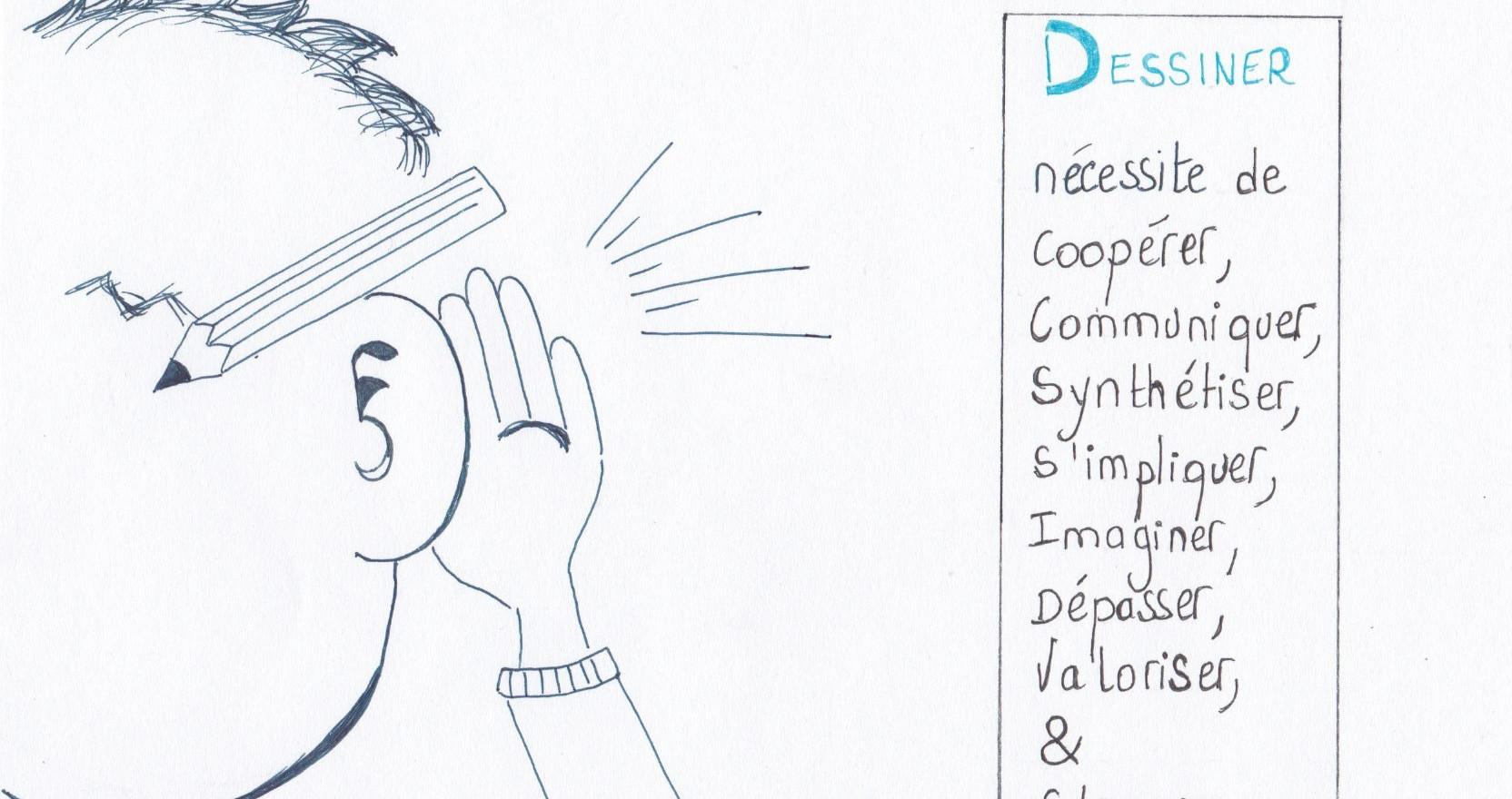 L'accompagnement par le dessin- coopérer -Drawthelight Facilitation