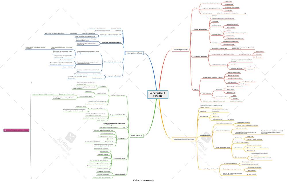 Mind map formation à distance - DrawthelightFacilitation