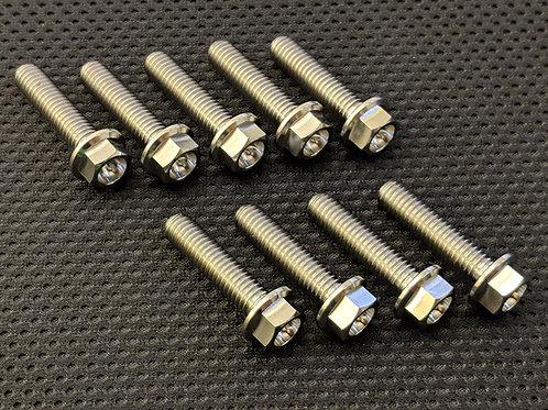 Suzuki GSXR750 Slabside Titanium Starter Cover Bolts 85-87
