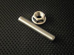 Stainless Exhaust Stud and Flange nut