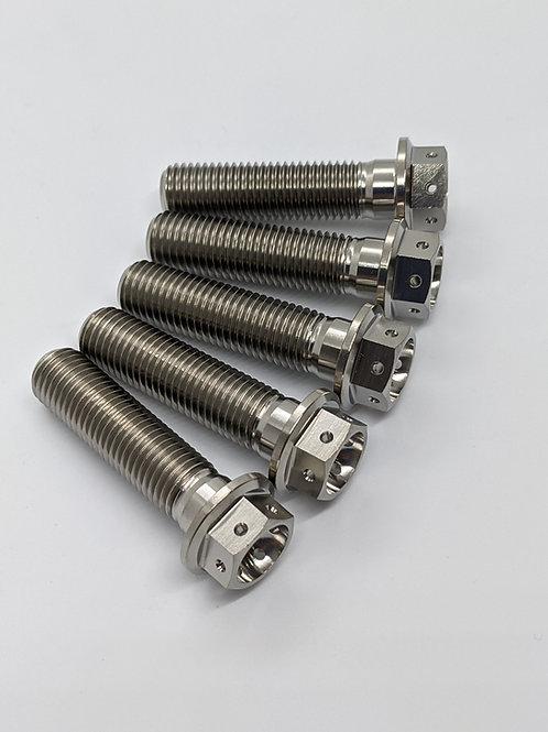 Yamaha R1M Titanium Rear Cush Hub Bolts 15-19