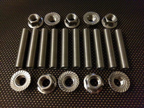 Mini Cooper 2nd / 3rd Gen Exhaust Studs and Flange Nuts 06>