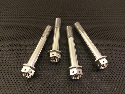GSXR750 Titanium Drilled Brake caliper Bolts 06-10 race Spec