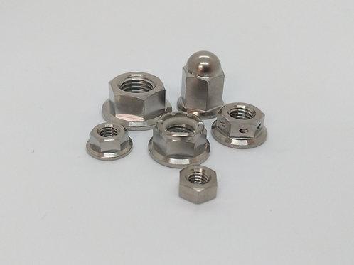 M5 Titanium Nuts