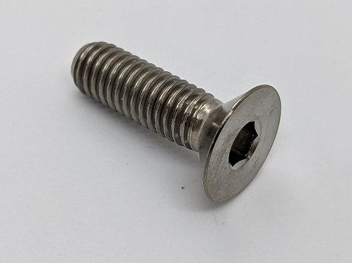 M8 x 1.25 Titanium Countersunk Socket Head