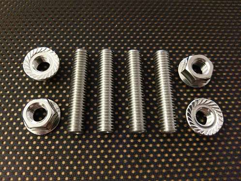 F800 Stainless Exhaust Studs and Flange Nuts