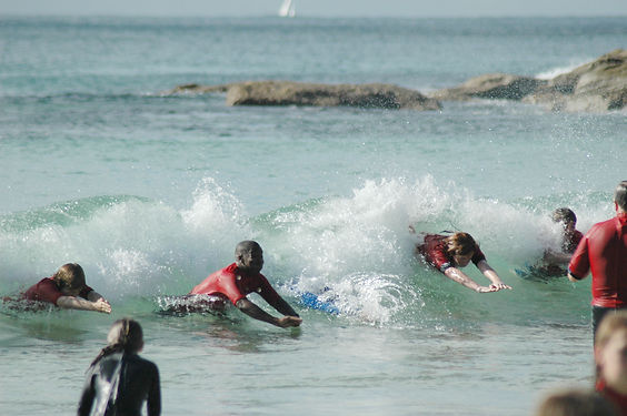 Surf Swimming