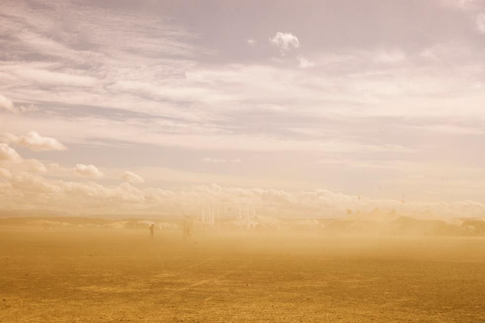 Dust.